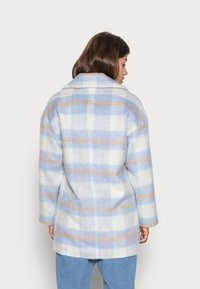 VILA PETITE - VIALISSI JACKET - Short coat - white/light blue - 2