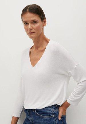 PICEASY - Sweter - šedobílá