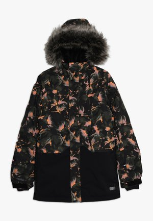 ZEOLITE JACKET - Snowboardjakke - black/red