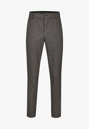 GARVEY IM WOLL LOOK - Trousers - light gray