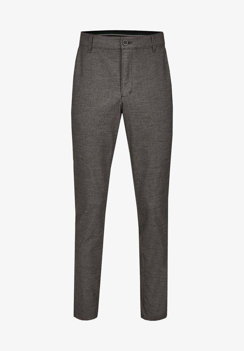 Club of Comfort - GARVEY IM WOLL LOOK - Trousers - light gray