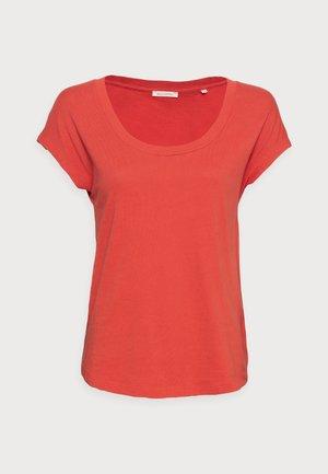 Basic T-shirt - burnt orange