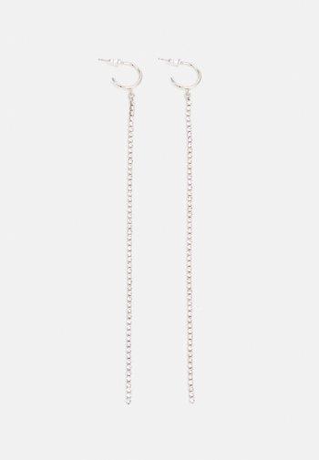 CUPCHAIN DROP  - Earrings - silver-coloured