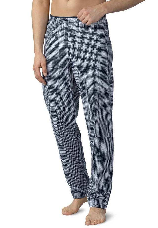HOSE, LANG - Pyjama bottoms - light grey melange