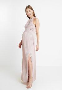 TFNC Maternity - EXCLUSIVE PRAGUE DRESS - Occasion wear - new mink - 0