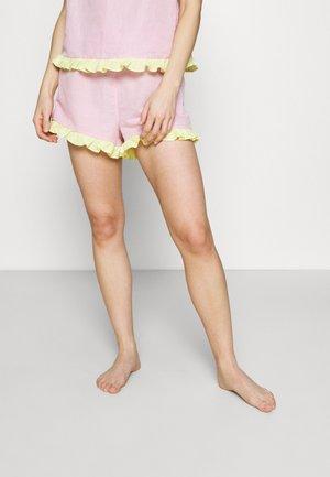 EMELIE SHORT - Pyjamabroek - light pastel pink