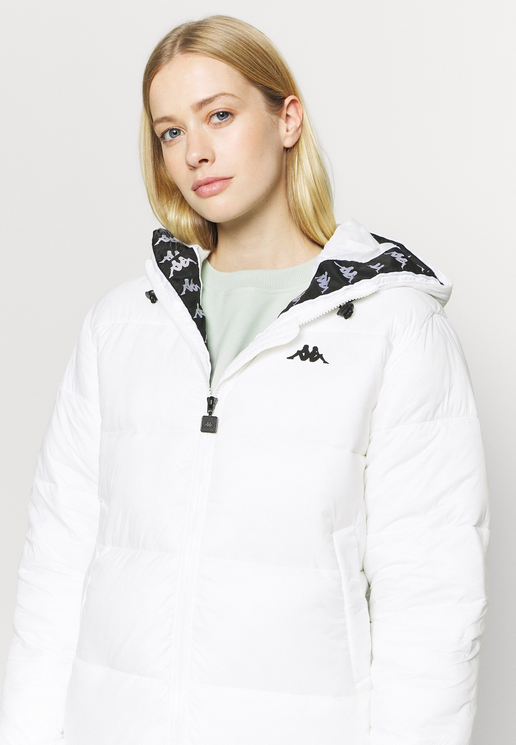 Kappa HEDITH - Winter coat - bright white 6K0o4