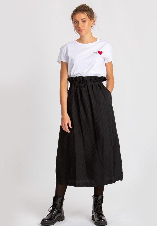 OGMA - A-line skirt - black