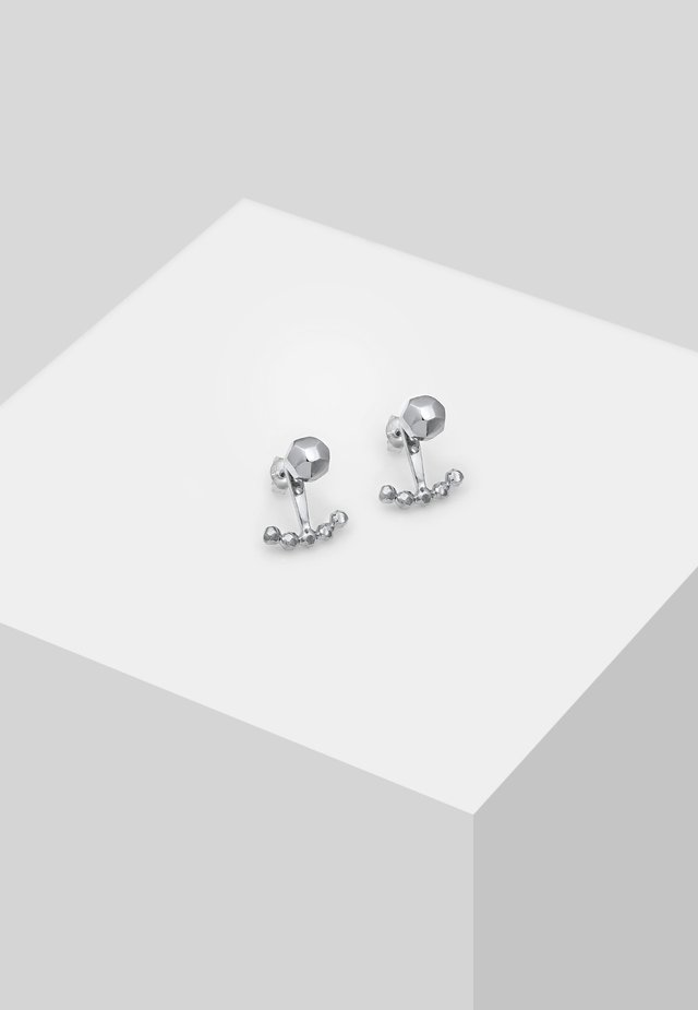 KUGEL  GEO - Earrings - silver-coloured