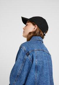 adidas Originals - SUPERSTAR UNISEX - Cap - black/white - 4
