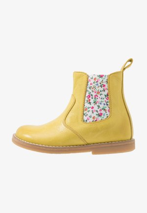 CHELYS NARROW FIT - Classic ankle boots - yellow
