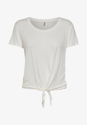 ONLARLI  - T-shirt z nadrukiem - white
