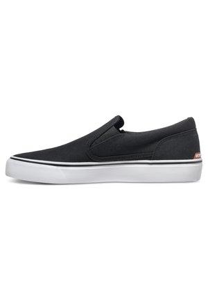TRASE - Sneakersy niskie - black/white
