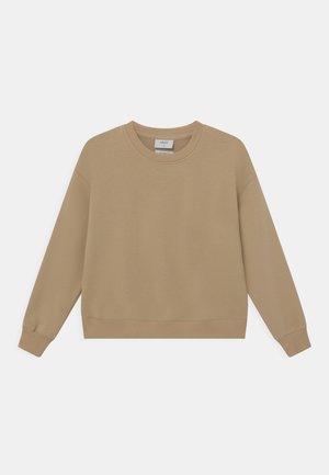 OUR LONE CREW - Sweatshirt - coffee brown