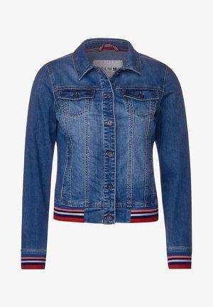 MIT COLLEGE-DEKO - Denim jacket - blau