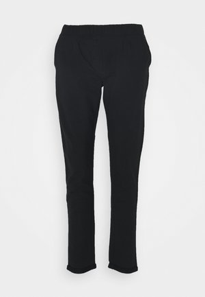 WOMAN LONG PANT - Tracksuit bottoms - nero