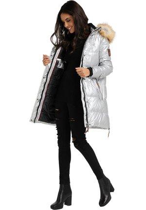 HALINA - Winter coat - silver