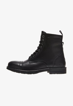TOM CUT PREMIUM - Šněrovací kotníkové boty - black
