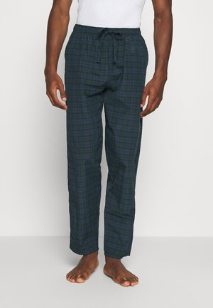 Pyjama bottoms - dark blue/green