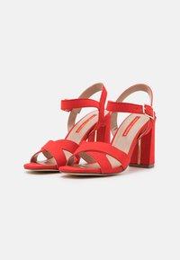Dorothy Perkins - SELENA BLOCK  - High heeled sandals - coral - 2