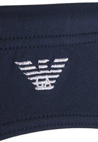 Emporio Armani - BRIEF - Swimming briefs - navy blue - 4