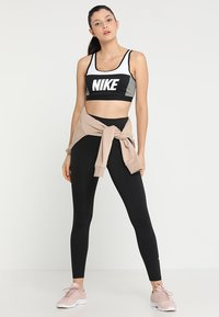 Nike Performance - ONE - Legginsy - black/white - 1