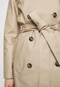 HUGO - MAKARAS - Trenchcoat - medium beige - 6