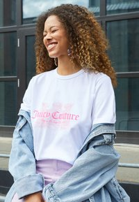 Juicy Couture - DOG  - T-shirt print - white - 2