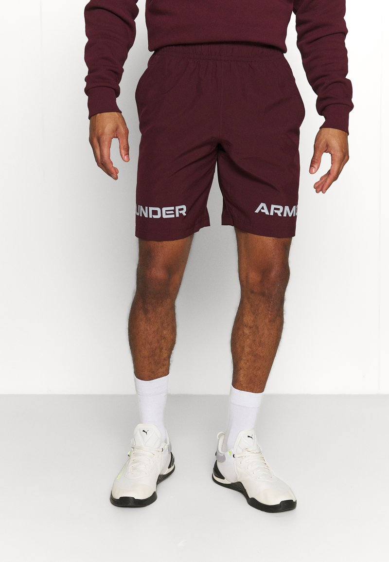 Under Armour - GRAPHIC SHORT - Sports shorts - bordeaux