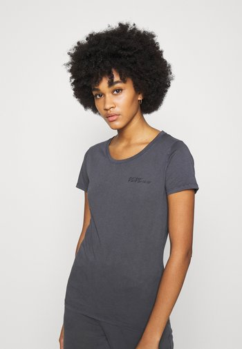JUNE - Basic T-shirt - steel grey