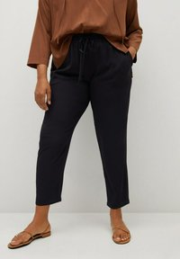 Violeta by Mango - Trousers - schwarz - 0