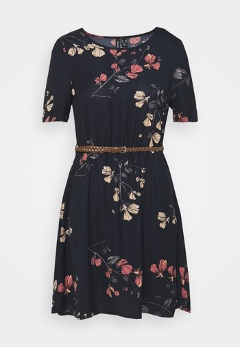 VMANNIE BELT SHORT DRESS PETITE - Day dress - night sky