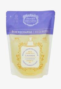 Panier des Sens - EXTRA MILDE FLÜSSIG SEIFE LAVENDEL ÖKO NACHFÜLLER 500 ML - Liquid soap - beige - 0