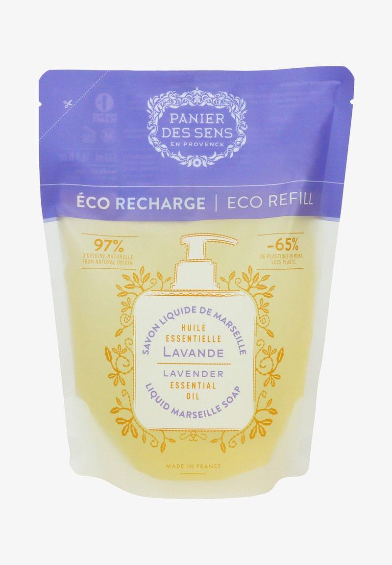 Panier des Sens - EXTRA MILDE FLÜSSIG SEIFE LAVENDEL ÖKO NACHFÜLLER 500 ML - Liquid soap - beige