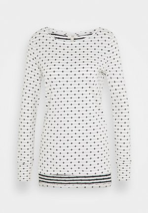 DOUBLE  - Long sleeved top - off white