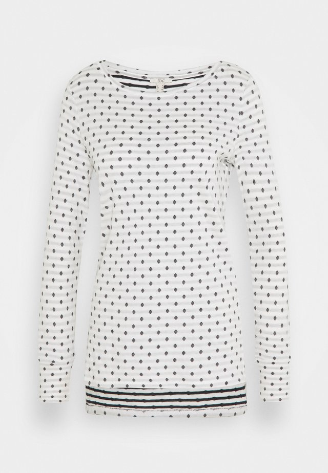 DOUBLE  - Pitkähihainen paita - off white