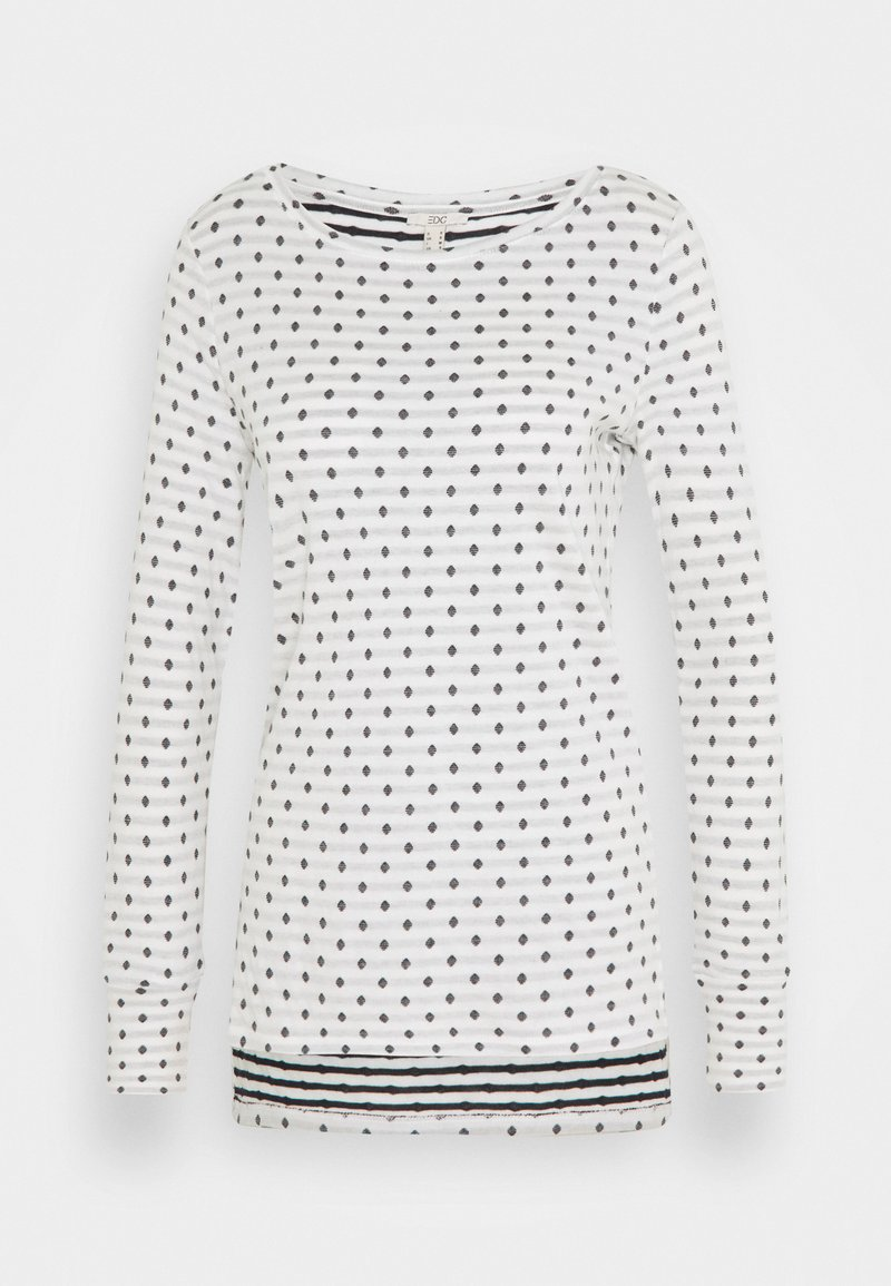 edc by Esprit - DOUBLE  - Long sleeved top - off white