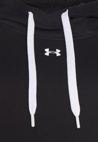 Under Armour - RIVAL HOODIE - Sweatshirt - black - 2