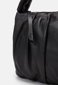 Abro - BEUTEL CALYPSO - Käsilaukku - black/nickel - 3