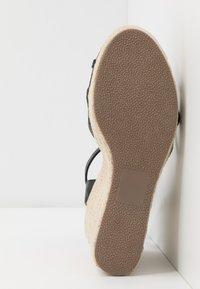 New Look - PEDGER - Sandalen met hoge hak - black - 6