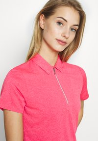 Callaway - SHORT SLEEVE 1/4 ZIP - Sports shirt - camella rose heather - 4
