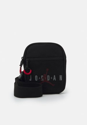 JAN AIR FESTIVAL CROSSBODY BAG UNISEX - Olkalaukku - black