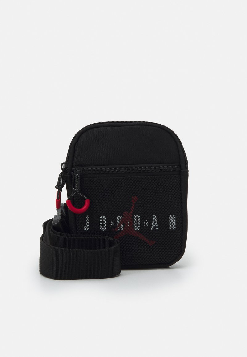 Jordan - JAN AIR FESTIVAL CROSSBODY BAG UNISEX - Taška spříčným popruhem - black