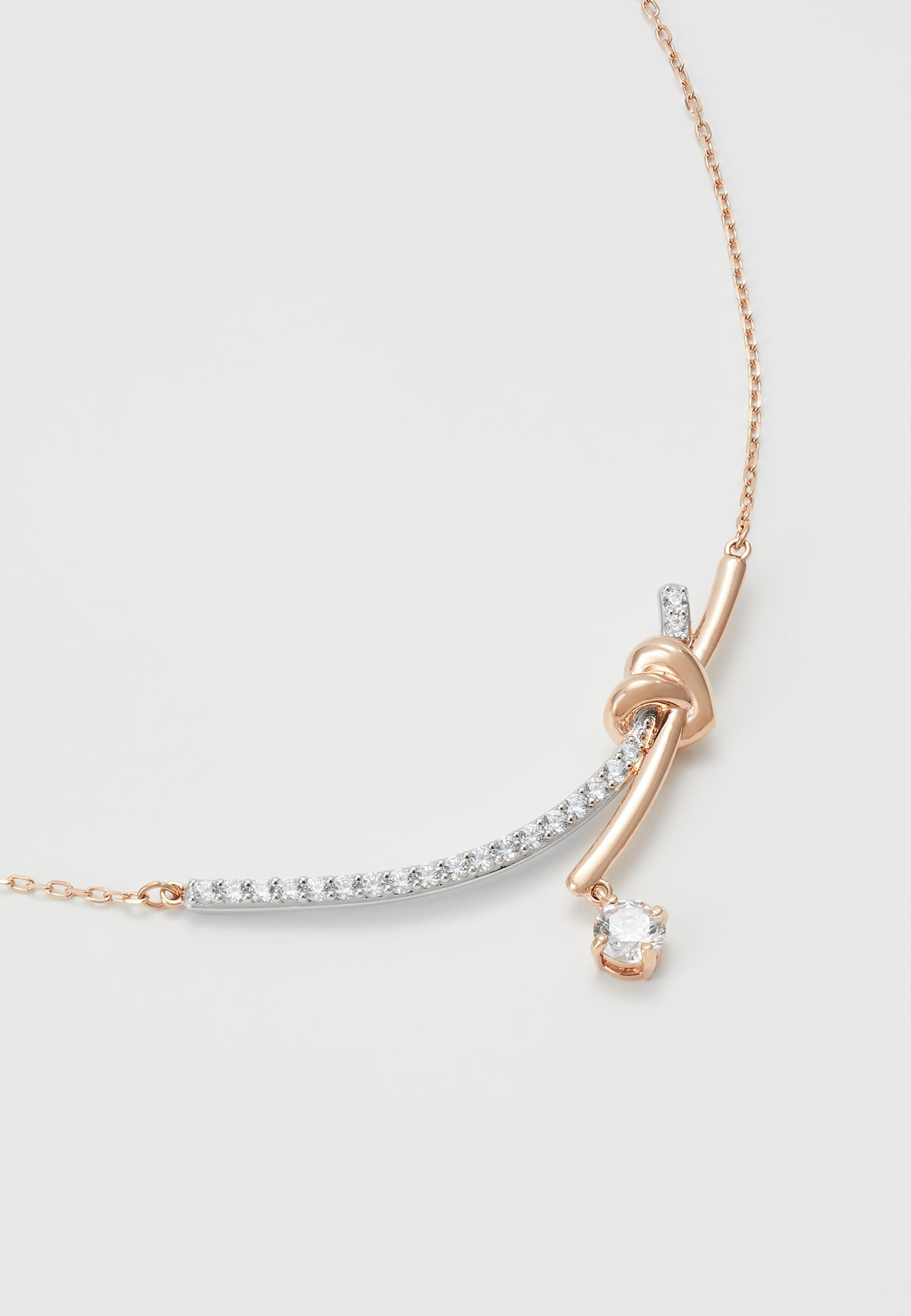 Swarovski Lifelong Necklace Barre - Halskette Rose Gold-coloured/roségoldfarben
