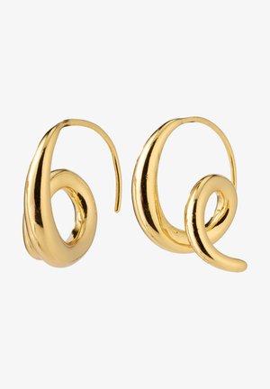 Oorbellen - gold plated