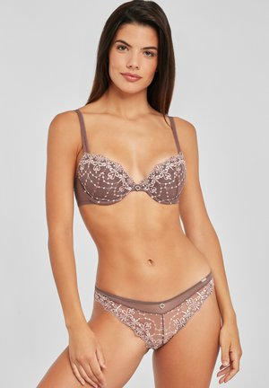 Push-up bra - taupe-rosé