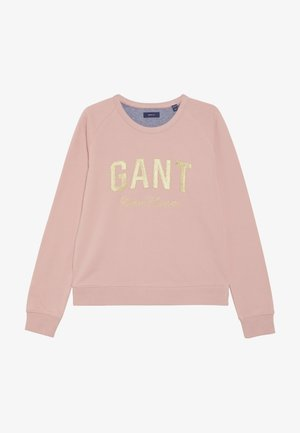 SHINY C-NECK - Sweatshirt - summer rose