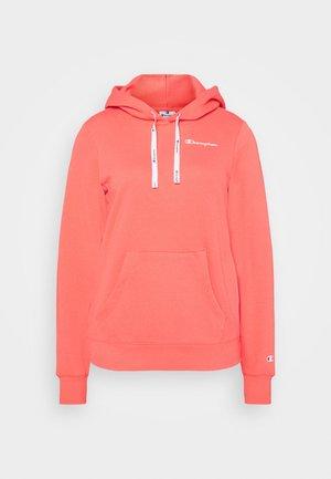 HOODED - Sweatshirt - coral