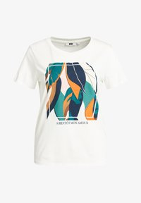 WE Fashion - Print T-shirt - off-white - 5