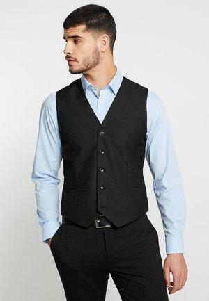 NUGIAMAURY - Suit waistcoat - noir